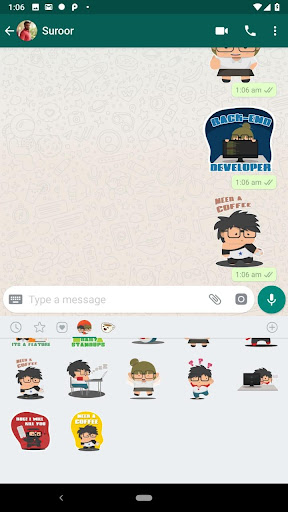 Geeky Stickers for WhatsApp  image 2