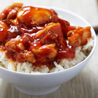 Honey And Brown Sugar Sweet & Sour Sauce.