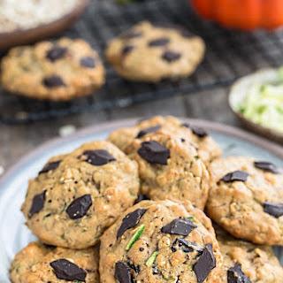 Flourless Pumpkin Zucchini Breakfast Cookies