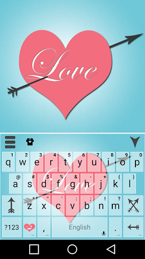 mod Pink Love Keyboard Theme  screenshots 1