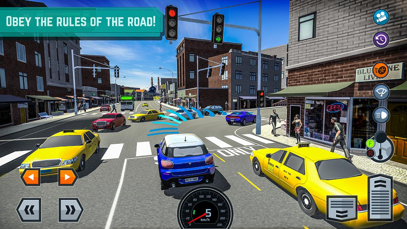 car driving school simulator android apps on google play. Black Bedroom Furniture Sets. Home Design Ideas