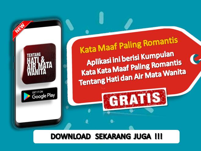 Kata Kata Maaf Paling Romantis – Android تطبيقات — AppAgg