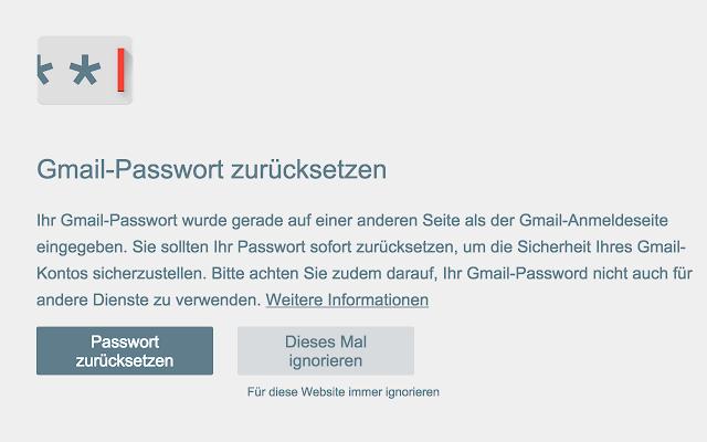 gmail app passwort ändern