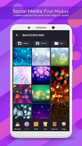 Social Media Post Maker - Social Post 1.1.0 Apk for Android 8
