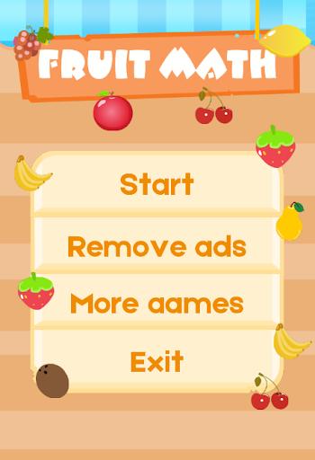 Fruit Math