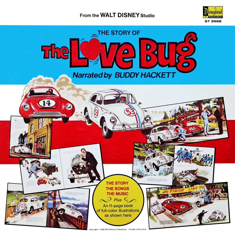 Buddy Hackett, George Bruns, Walt Disney