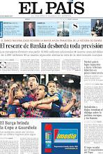 Photo: El rescate de Bankia desborda toda previsión, el Barcelona brinda a Guardiola, Merkel quiere bajos impuestos y duras reformas laborales en países como Grecia y Rubalcaba y Rajoy retoman el diálogo sobre la política, en la portada de este sabado, 26 de mayo de 2012 http://ep00.epimg.net/descargables/2012/05/26/dd35c26d9a4ce98ff01ef30b94c883db.jpg