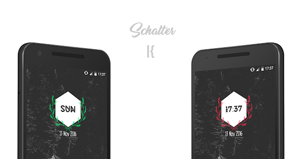 Schalter for KWGT Screenshot