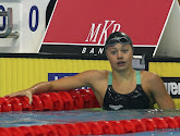 Valerie Dumont houdt Belgische hoop levend op EK kortebaanzwemmen