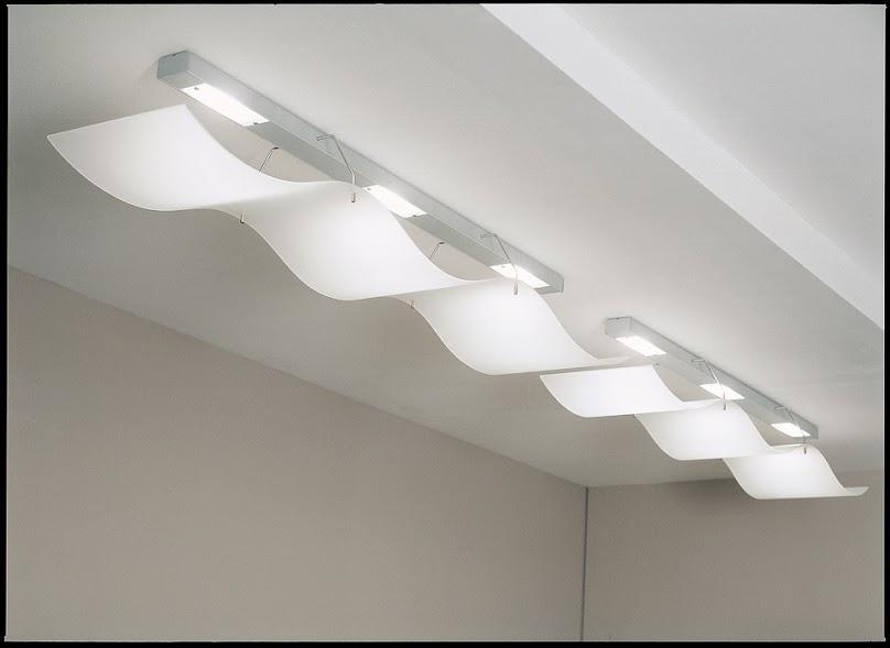 Sufit podwieszany - oświetlenie