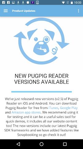 android Pugpig Post Screenshot 2