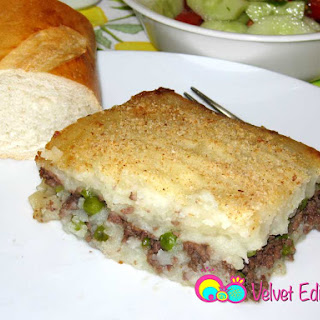 Shepherd's Pie Mediterranean Style