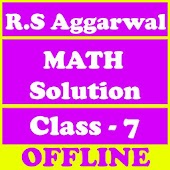 RS Aggarwal Class 7 Math Solution