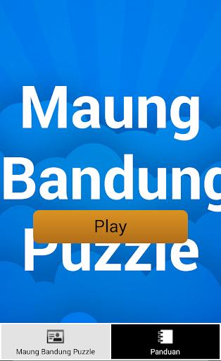 Puzzle Maung Bandung