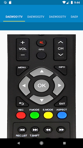 Daewoo TV Remote Control 1.1.7 screenshots 5