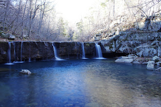 Photo: Jim Bob Falls on Long Devils Fork in Richland Creek Wilderness Area