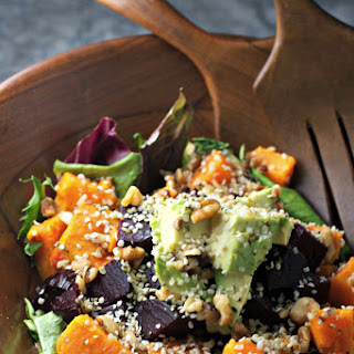 Healthy Sweet Potato and Beet Superfood Salad