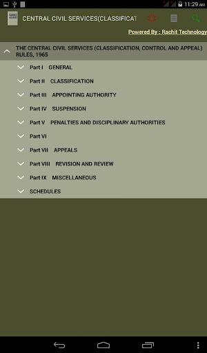 CCS CCA RULES 1965