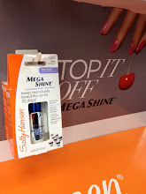 Photo: I decided to try this Mega Shine Top Coat. It looks great and promises to keep manicures beautiful for up to 10 days. Spoiler alert: It's awesome!