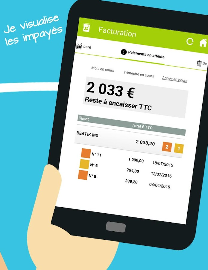 RoboCompta Mobile Accounting- screenshot