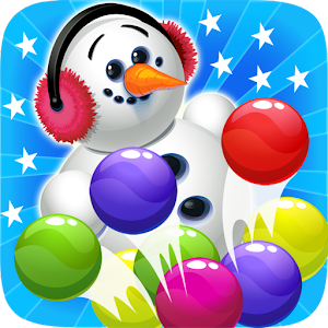 Ice Bubble Shooter Snowman for PC and MAC