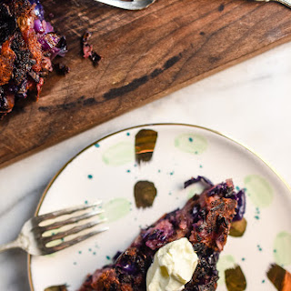 Red Potato and Cabbage Cake.