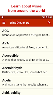 Wine Dictionary- screenshot thumbnail