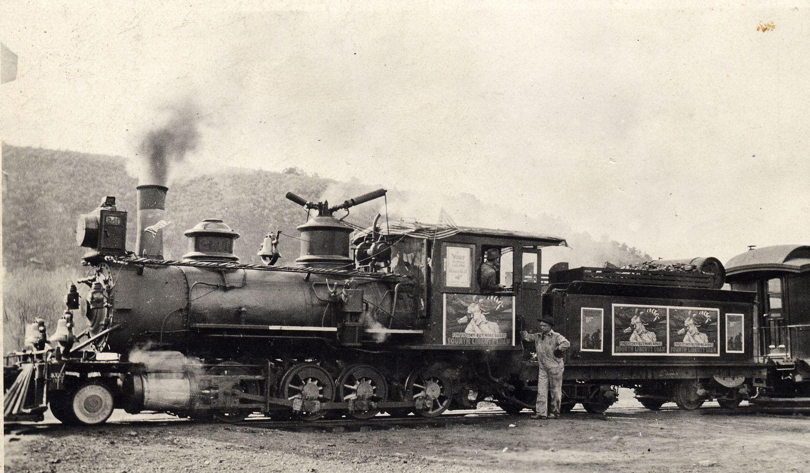 Photo: #240 Bond Selling Train, Carl Underhill