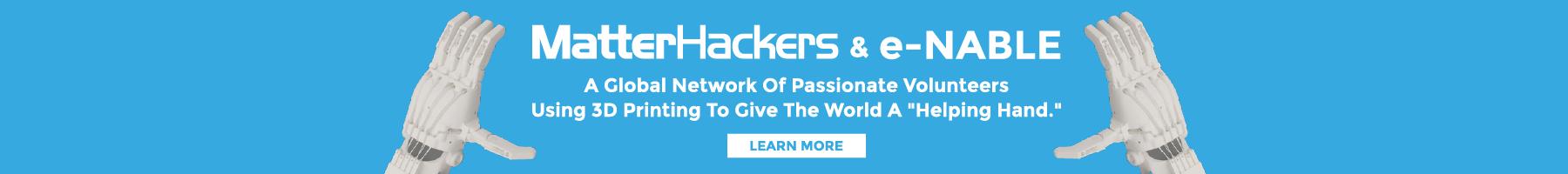 MatterHackers partners with enablingthefuture.org