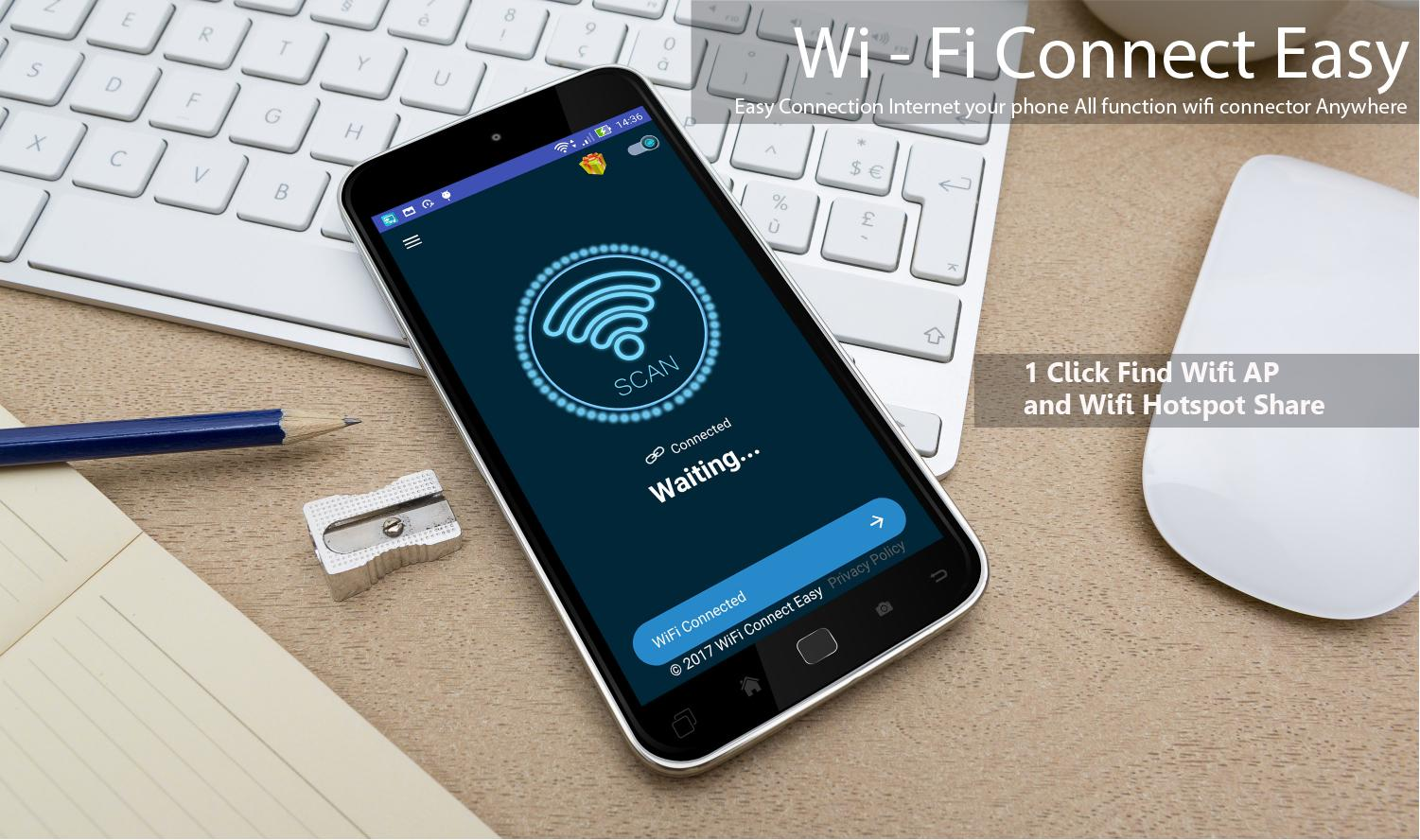 how to connect windows 7 to internet with wifi