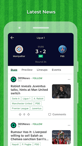 Match365 1.2.0 screenshots 2