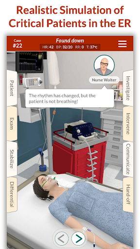 Full Code - Emergency Medicine Simulation 2.4.1 screenshots 1