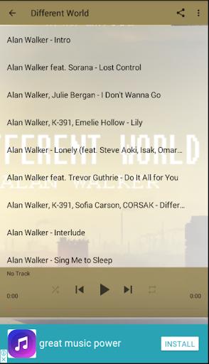 Popular Songs Alan Walker 3.4 screenshots 2