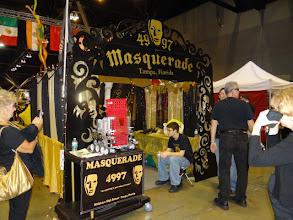Photo: Masquerades pit