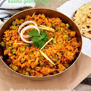 Keema Gobhi Matar