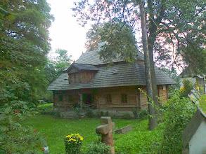Photo: E9070323 Miechow - drewniany Dworek 'Zacisze'