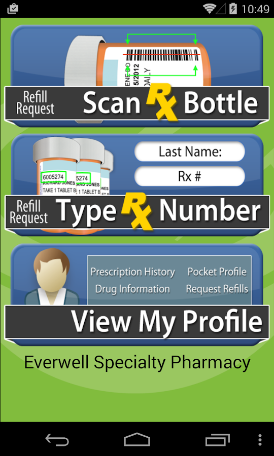 Everwell Specialty Pharmacy- screenshot