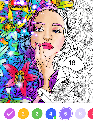 No.Paint - Relaxing Coloring games apkdebit screenshots 9