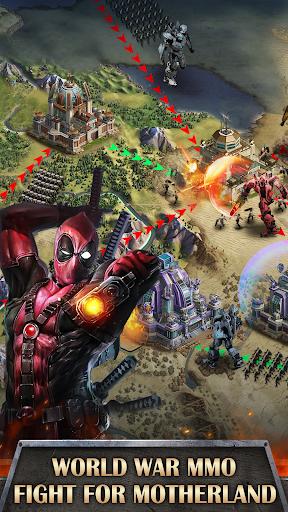 Mutants War: Heroes vs Zombies MMOSLG apktram screenshots 6