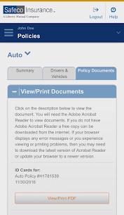 Приложения Safeco Mobile (apk) бесплатно скачать для Android / ПК screenshot