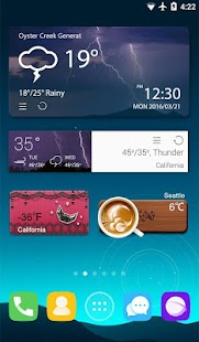 GO Weather Forecast & Widgets Screenshot