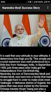 Narendra Modi Success Story - náhled