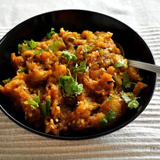Burnt Aubergine Curry