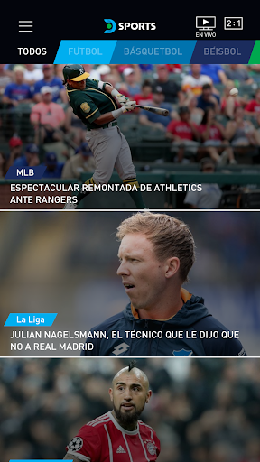 DIRECTV Sports 6.0.9 screenshots 1