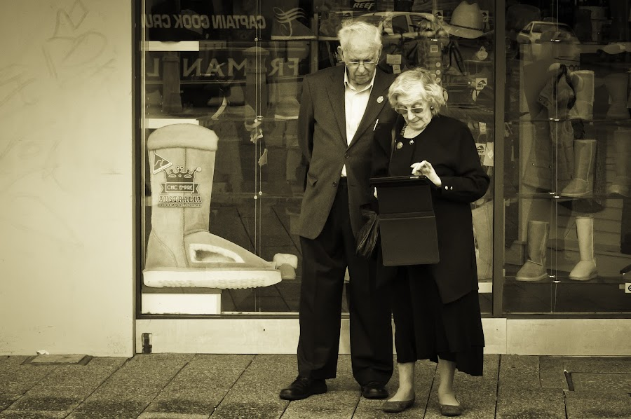 Modern Technology by Mia Iversen - People Couples