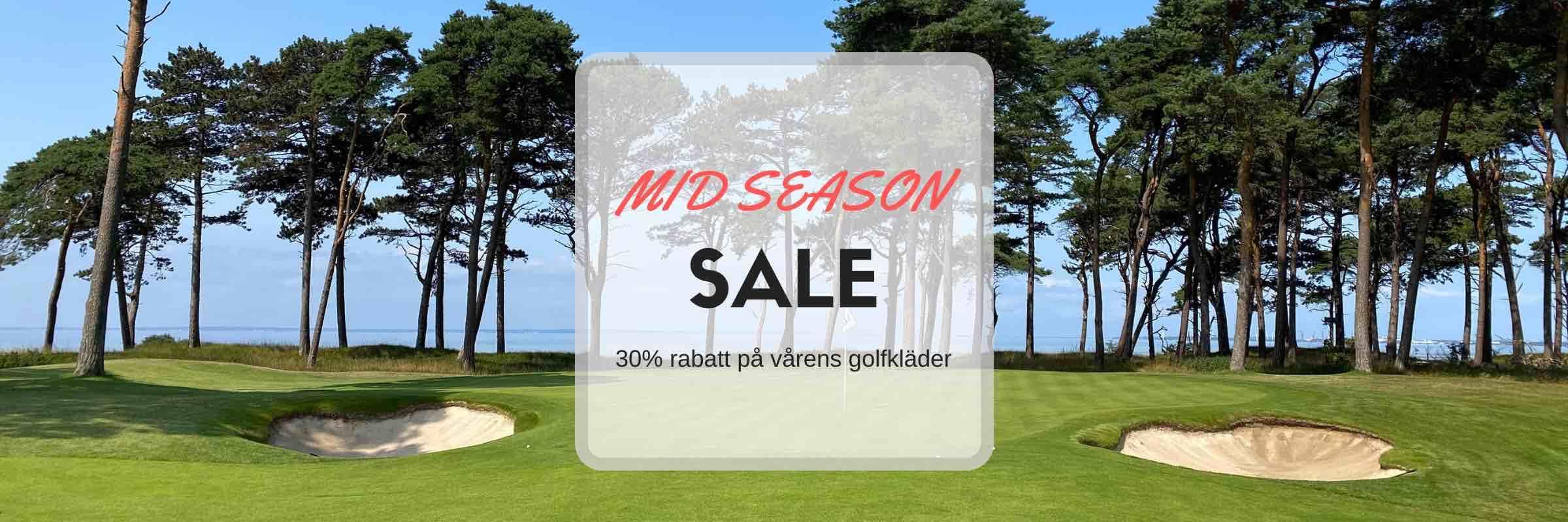 Golfrea 30% rabatt på golfkläder