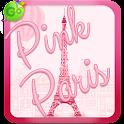 Pink Paris Keyboard icon