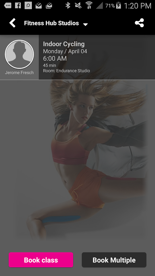 Fitness Hub Studios- screenshot