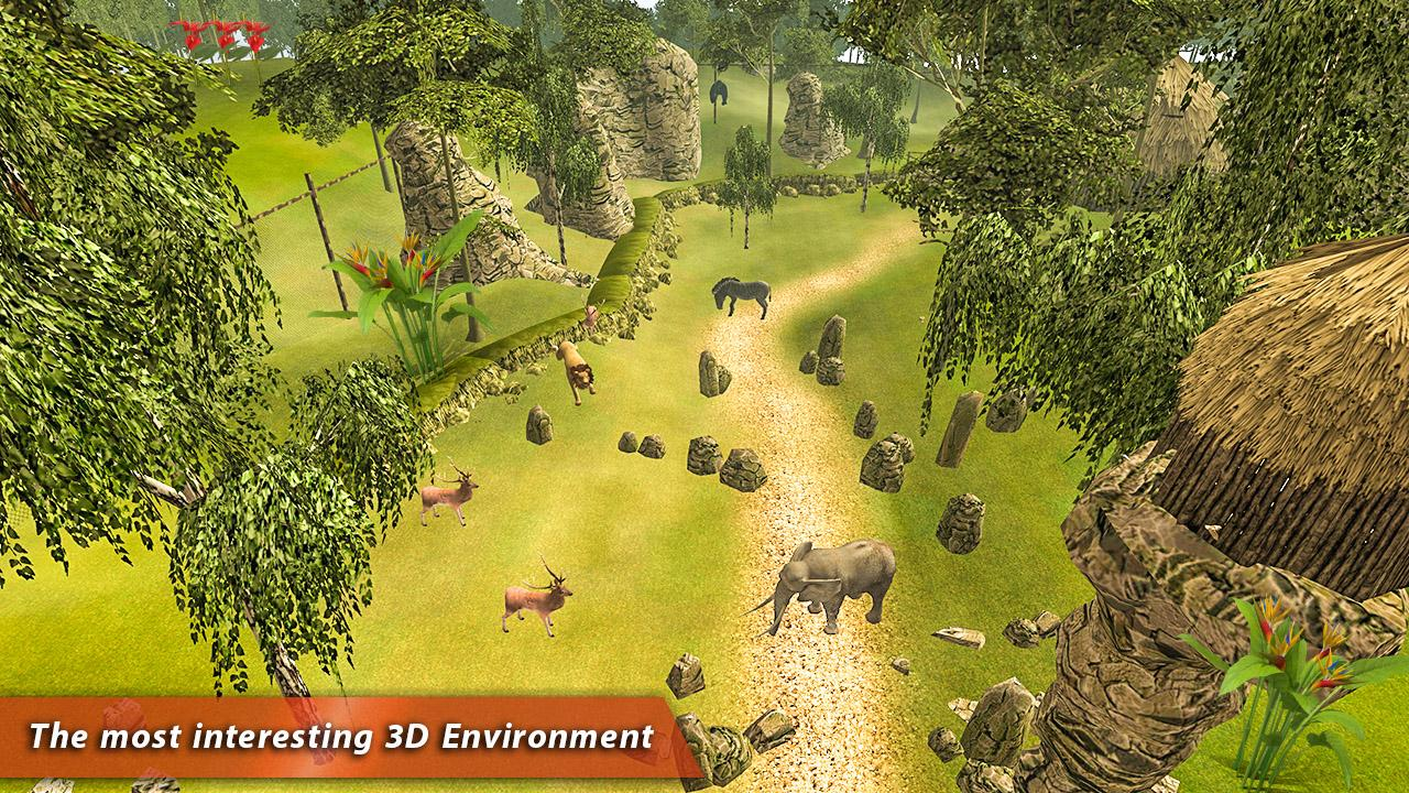 Safari Tours Adventures VR 4D- screenshot