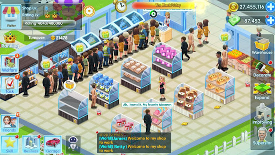 Game My Supermarket Story : Store tycoon Simulation APK for Windows Phone